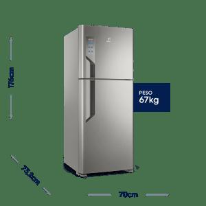 Geladeira/Refrigerador Top Freezer 431L Platinum (TF55S)