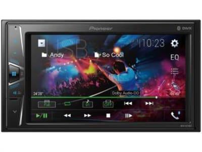 "Central Multimídia Pioneer MVH-G218BT LCD 6,2"" - Touch Câmera de Ré Bluetooth USB Auxiliar - Magazine Ofertaesperta"