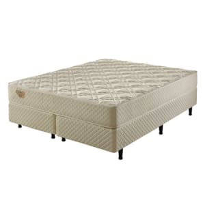 Conjunto Cama Box Super King de Molas Ecoflex Flex Charm IN - 193x203