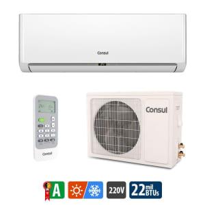 Oferta ➤ Ar Condicionado Split Consul Quente e Frio High Wall 22.000 BTUs CBC22CBBNA – 220V   . Veja essa promoção