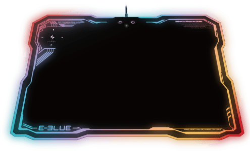 Mouse Pad Rgb Com Carregamento Por Indução Celular Emp013
