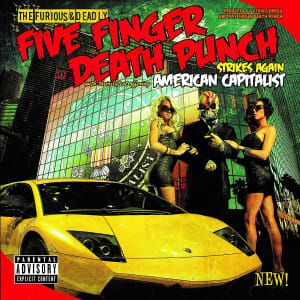 Disco de Vinil American Capitalist - Five Finger Death Punch