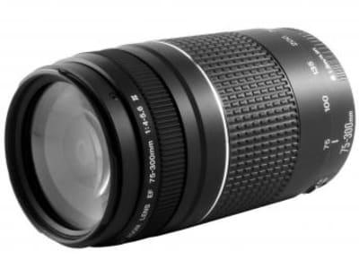 Canon EF 75-300mm f/4-5.6III - Lente Zoom Telefoto