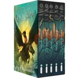 Box de Livros Percy Jackson e os Olimpianos (5 Volumes) - Rick Riordan