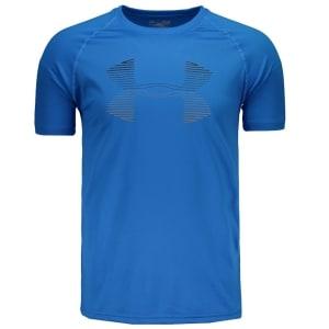 Camiseta Under Armour Tech Horizon - Azul