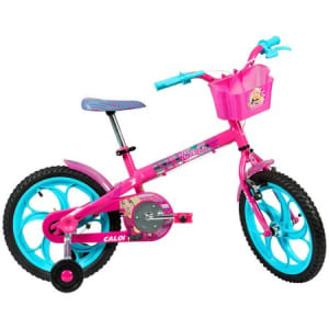 Oferta ➤ Bicicleta Caloi Barbie 2017, Aro 16, Quadro em Aço, com Cesto, Rosa(Cód. 789497)   . Veja essa promoção