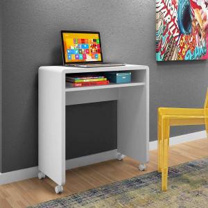 Oferta ➤ Mesa para Computador ou Escritório Olivar Móveis Smile com Rodízios   . Veja essa promoção