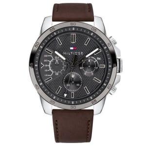 Relógio Tommy Hilfiger Masculino Couro Marrom - 1791562