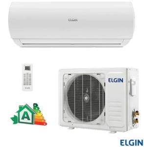 Ar Condicionado Split Hi-Wall Elgin Eco Logic com 12.000 BTUs, Frio, Turbo, Branco - 13313