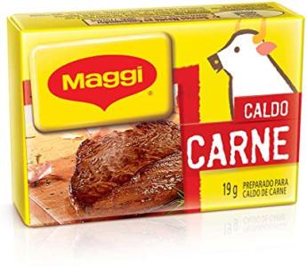 (6 Unidades) Maggi Caldo Carne Tablete 19g