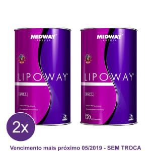 Kit 2x Lipoway Reduce: Vitamina E e ômegas 3 6 e 9 Glamour 120 caps