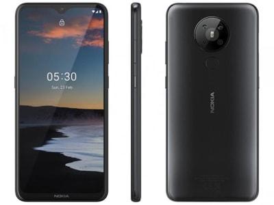 """Confira ➤ Smartphone Nokia 5.3 128GB Preto 4G Octa-Core – 4GB RAM 6,55"""" Câm. Quádrupla + Selfie 8MP – Magazine ❤️ Preço em Promoção ou Cupom Promocional de Desconto da Oferta Pode Expirar No Site Oficial ⭐ Comprar Barato é Aqui!"""