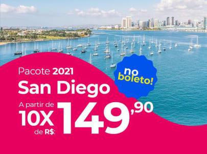 Pacote San Diego - 2021 Aéreo + Hospedagem