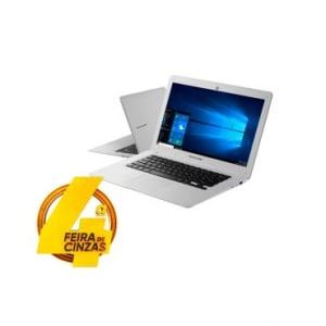 """Notebook Multilaser Legacy com Processador Intel® Atom X5-Z8350 Quad Core, Tela de 14"""", 2GB de memória, 32GB HD, Bluetooth, HDMI e Windows 10 - PC102"""