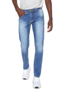 Calça Jeans Doc Dog Reta Basic Azul
