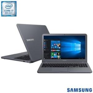 "Notebook Samsung, Intel® Core™ i7, 12GB, 1TB, Tela de 15,6"" e Placa NVIDIA® GeForce® MX110, Expert X55 - NP350XAA-XF4BR - SGNP350XAAXF4_PRD"