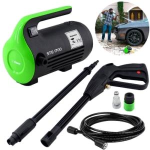 Lavadora de Alta Pressão STG-1700 Power 1700Psi 1600W 330l/h Silenciosa Mini Portátil 110V