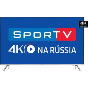 Oferta ➤ Smart TV Led 55 Samsung   55MU7000 Ultra HD 4k com Conversor Digital 4 HDMI 3 USB Wi-Fi Smart Tizen Controle Remoto Único 120Hz   . Veja essa promoção