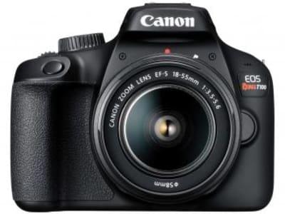 Câmera Digital Canon Semiprofissional EOS Rebel T100 18-55mm f/3.5-5.6