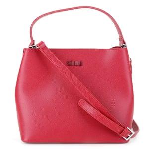 Bolsa Santa Lolla Tote Shopper Risco Feminina - Vermelho