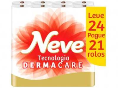 Papel Higiênico Folha Dupla Neve - Toque de Seda 30209802 24 Rolos 30m - Magazine Ofertaesperta