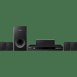 Home Theater Blu-Ray 3D Samsung HT-F4505 500W 5.1 Canais Full HD HDMI USB Rádio FM