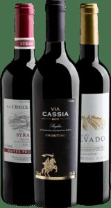 Vinho Trio Uvas Clássicas