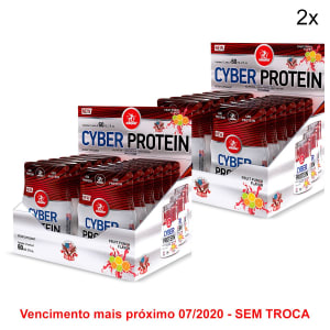 Kit 2x Cyber Protein Midway USA 60ml c/ 12 Unidades