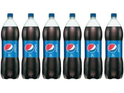 Refrigerante Pepsi Cola 2L - 6 Unidades