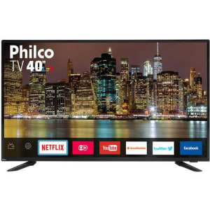 "Smart TV LED 40"" Philco PTV40E60SNC Full HD"
