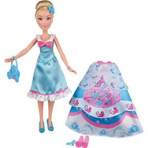 Boneca Princesas Disney Lindos Vestidos Cinderela - Hasbro