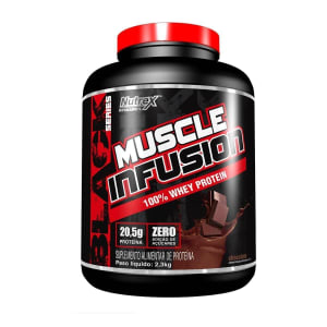Muscle Infusion 100% Whey Protein 5Lb Nutrex - Chocolate