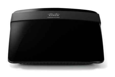 Roteador Wireless Linksys E1200-br Roulin N 300mbps (Cód: 4642609)