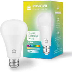 Confira ➤ Smart Lâmpada Wi-Fi RGB+ Positivo Casa Inteligente LED 12W Bivolt ❤️ Preço em Promoção ou Cupom Promocional de Desconto da Oferta Pode Expirar No Site Oficial ⭐ Comprar Barato é Aqui!