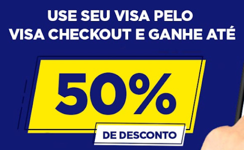 RicardoEletro - Até 50% de Desconto no Pagamento pelo Visa Checkout