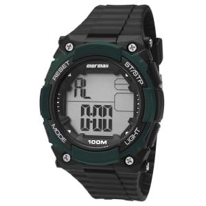 Relógio MOY15518 Mormaii - Preto e Branco