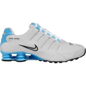 Tênis Nike Shox Nz Eu Masculino - Branco e prata