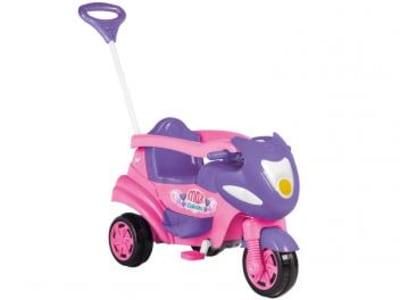 Triciclo Infantil Calesita com Empurador Max - Buzina Porta Objetos - Magazine Ofertaesperta