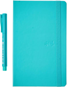 Caderno Pontilhado + Fine Pen Faber-Castell CDNETA/VD Creative Journal 20x12.5cm Verde 84 Folhas