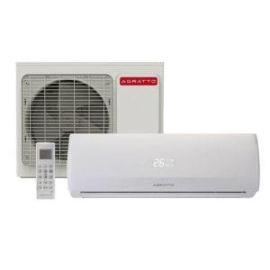 Ar Condicionado Split Hw On/Off Agratto Fit 12000 Btus Quente/Frio 220v Monofásico CCS12QF R4