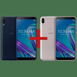 Zenfone Max Pro (M1) 4GB/64GB Preto + ZenFone Max Pro (M1) 3GB/32GB Prata