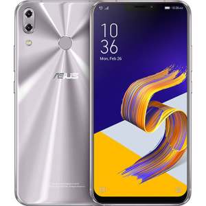 "Smartphone Asus Zenfone 5 64GB Dual Chip Android Oreo Tela 6.2"" Snapdragon 636 Octacore 4G Câmera 12MP + 8MP (Dual Traseira) 3300mAh - Prata"
