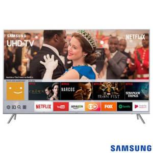 """Oferta ➤ Smart TV 4K Samsung LED 75"""" HDR 1000, Dynamic Crystal Color e Wi-Fi – UN75MU7000GXZD   . Veja essa promoção"""