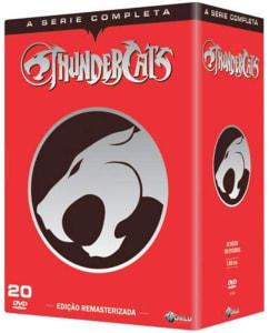 Box DVD Thundercats Edição Remasterizada - A Série Completa