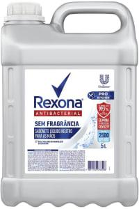 Sabonete Líquido Neutro Antibacterial para as Mãos sem Perfume Rexona Pro Kitchen Galão 5l, Rexona