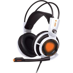 Headset Gamer OEX Extremor Som 7.1 Virtual Surround Smart Vibration HS-400 - Branco