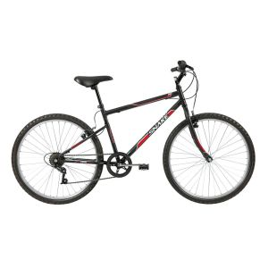 Bicicleta Aro 26 Caloi Snake com 7 Marchas – Preta
