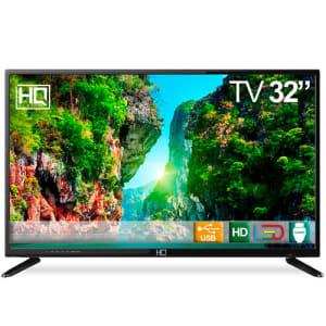 "Tv Led 32"" HQ HQTV32 Hd Conversor Digital 3 Hdmi 2 Usb"