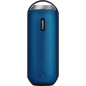 Caixa de Som Bluetooth Philips BT6000A/12 12W Azul Resistente à Água