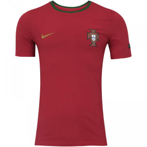 Camiseta Portugal 2018 Crest Nike - Masculina